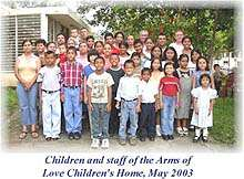 Arms of Love Children's Home in Nicaragua - Click for info